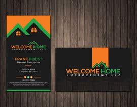 #590 для Design a Business Card for Welcome Home Improvement LLC от SHILPIsign