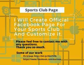 #2 cho need a official facebook page for my sports club bởi SakibProdhan