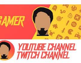 minicreate tarafından Build me a gaming profile logo+banner for twitch & youtube için no 7