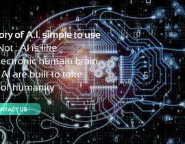 #76 cho Web banner full screen about Artificial Intelligence bởi OKPdesigner