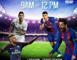 Nro 1 kilpailuun design a soccer flyer käyttäjältä mvictorialedesm4