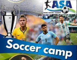 Nro 6 kilpailuun design a soccer flyer käyttäjältä AliSha512