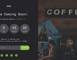 #45 for interactive landing(comingsoon) page by mdraihanwp