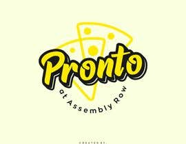 #62 for logo in bright yello black and white only.   pizza / sandwich shop . name is Pronto at Assembly Row by reyryu19