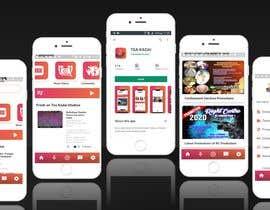 #21 untuk Design an app mockup oleh BeeArtStudio