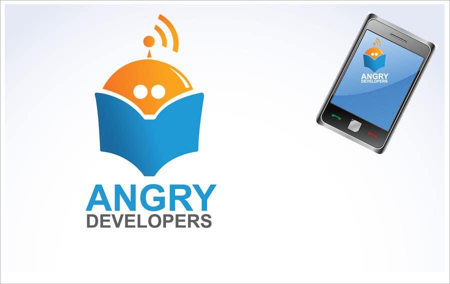 Inscrição nº                                         34                                      do Concurso para                                         Logo Design for Angry Developers