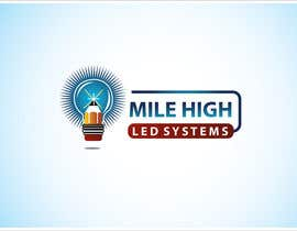 #89 cho Logo Design for Mile High LED Systems bởi mdmonirhosencit