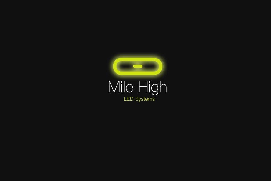 Inscrição nº                                         6                                      do Concurso para                                         Logo Design for Mile High LED Systems