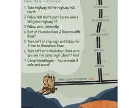 #7 dla Camp Route Map przez itsmerenjith