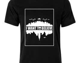 "#43 for T-shirt Design for ""I Want To Believe"" UFO shirt. af amitpadal"