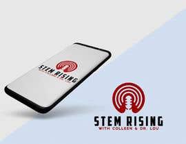 #27 dla New Podcast Cover Logo - STEM Rising przez logoque