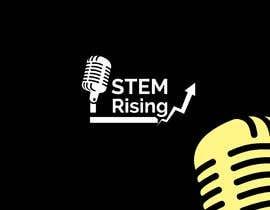 #60 dla New Podcast Cover Logo - STEM Rising przez SakerR3
