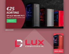 #61 dla Need a banner and a small image for gaming computer store przez kashifkiduniya