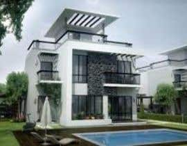 #12 dla I need a 3D model / Design Render of an Old House Facade from pdf file drawing przez nabil20054
