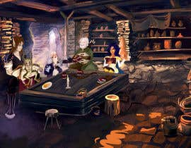 #16 dla Draw an image of D&D Characters in a tavern przez ardentika