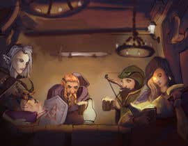 #34 dla Draw an image of D&D Characters in a tavern przez yagizerturk