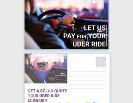 "#6 dla Postcard for ""Let Us Pay for Your Uber Ride"" przez nurulhasaniou"