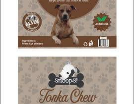 #14 dla Dog Treat Label ; Tonka Chew przez Sreesujitdeb