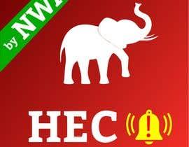 #34 untuk app logo for hec alert by NWA oleh Robinimmanuvel