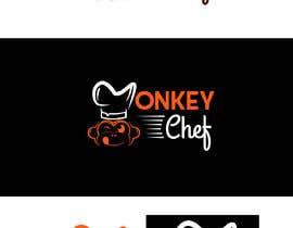 #109 dla Logo design / Diseño de logo    Monkey Chef przez presti81