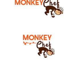 #128 dla Logo design / Diseño de logo    Monkey Chef przez presti81