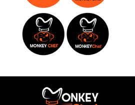 #137 dla Logo design / Diseño de logo    Monkey Chef przez presti81