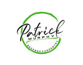 #9 dla I need a logo designed for a carpenter. The company name is Patrick Murphy Bespoke Carpentry. I would like black font for the writing and sleek and corporate looking. Please include that green colour in the design somehow. przez amostafa260
