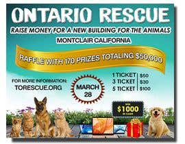 #79 dla Create a Raffle Banner for Animal Rescue przez neharasheed876