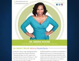 #223 dla Create a Design for Dr.Neema Moore Media Kit przez Mosharfkaptai