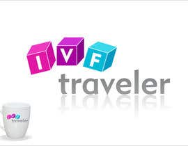 #57 para Logo Design for IVF Traveler por Grupof5