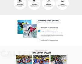 #34 para HOME PAGE REDESIGN - Canoe/safari/rafting on river website de Tonisaha