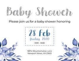 #4 dla Create a baby shower event invite for facebook przez cnbrito