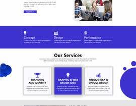 #48 para Build a home page design for a musician de Artghar