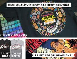 #3 para Postcard Design for textilprinting company de expertbrand