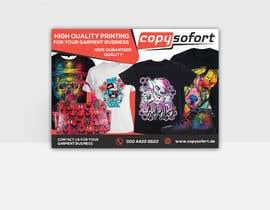 #5 para Postcard Design for textilprinting company de miloroy13