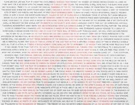 "#7 para Create a ""litograph"" from the attached text de JoaoXavi"