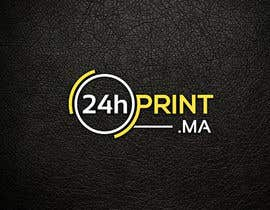 #486 para Logo design for www.24hprint.ma de KleanArt