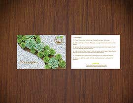 #24 para Design a postcard using our template and example de mamuncomill