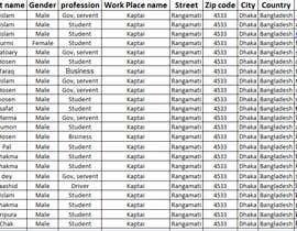 #114 para List of names and addresses de S2774