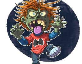 #54 para Design T.shirt for zombie character de ToaMota