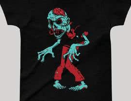 #114 para Design T.shirt for zombie character de jibon710