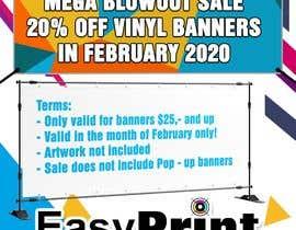 #4 para Mega Blowout Sale Sign - Vinyl Banners de snawnaw39