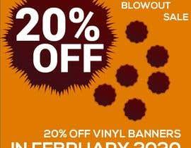 #12 para Mega Blowout Sale Sign - Vinyl Banners de afifakhatun71