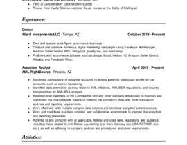 #45 para Design me a resume de Abdellatiefyahia