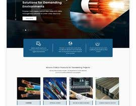 #18 for Web UI design for a manufacturing company by uiuxdesignerrr
