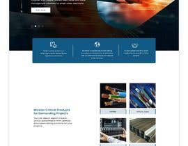 #32 for Web UI design for a manufacturing company by uiuxdesignerrr