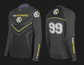 #8 untuk Karting Team Long-sleeve shirt oleh minimalwork