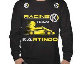 #4 untuk Karting Team Long-sleeve shirt oleh Israfil777