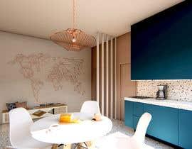 #29 для Interior Design for Small Apartment от ArqBelenLopez