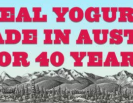 #11 for Text & Design to Add to Billboard picture content for Yogurt by samimkeremsayin